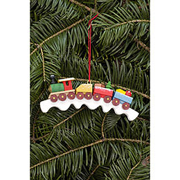 Tree Ornament - Railroad - 11,0x4,1 cm / 4.3x1.6 inch
