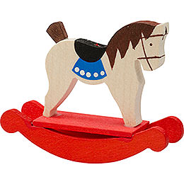 Tree Ornament - Rocking Horse - 5 cm / 2 inch