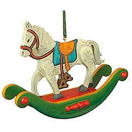 Tree Ornament - Rocking Horse - 7 cm / 3 inch