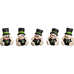 Tree Ornament - Schorchy - 5 pcs. - 4 cm / 2 inch