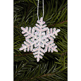 Tree Ornament - Snowflakes - 4,5x4,5 cm / 2x2 inch