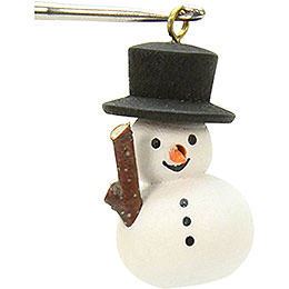 Tree Ornament - Snowman - 1,1x3,0 cm / 1x1 inch