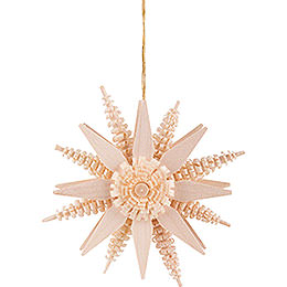 Tree Ornament - Star - Natural - 7 cm / 2.8 inch