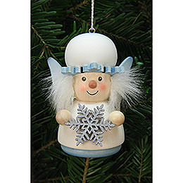 Tree Ornament - Teeter Figurine Snowflake - 7,7 cm / 3 inch