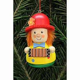 Tree Ornament - Teeter Man Clown - 7,5 cm / 3 inch