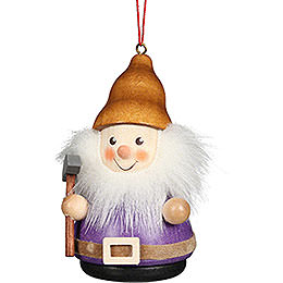 Tree Ornament Teeter Man Dwarf with Pick - 8 cm / 3.1 inch