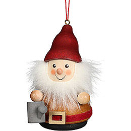 Tree Ornament Teeter Man Dwarf with Watering Can - 8 cm / 3.1 inch