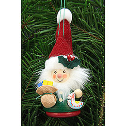 Tree Ornament - Teeter Man Santa Claus - 12,5 cm / 3 inch