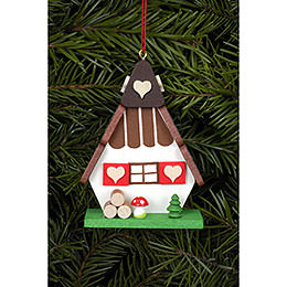Tree Ornament - Witch House - 5,2x7,2 cm / 2x3 inch