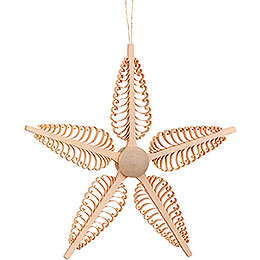 Tree Ornament - Wood Chip Star - 23 cm / 9.1 inch