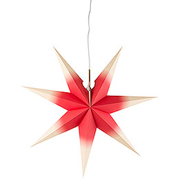 Window Star - Red - Yellow - 53 cm / 20.9 inch