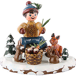 Winter Children Animals of the Forest - 7 cm / 3 inch