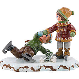 Winter Children Boy Skating - 7 cm / 3 inch