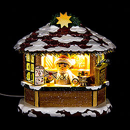 Winter Children Christmas Post Office - 10 cm / 3.9 inch