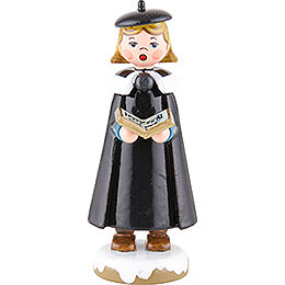 Winter Children Church Singers with Book - 8 cm / 3 inch
