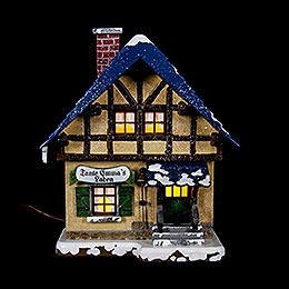 Winter Children Corners Shop Illuminated - 14 cm / 5,5 inch