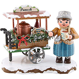 Winter Children Glogg Cart - 8 cm / 3.1 inch