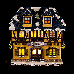 Winter Children Inn Illuminated - 15 cm / 6 inch