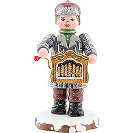 Winter Children Organ Players - 7,5 cm / 3 inch