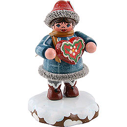 Winter Children Tinchens Gingerbread Heart - 5 cm / 2 inch