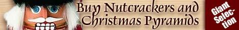Buy Nutcrackers and Christmas Pyramids - Giant Selection